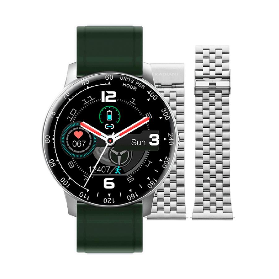 Reloj Radiant Smartwatch Times Square Mujer RAS20404 Correa Silicona