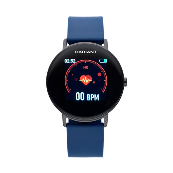 Reloj Radiant Smartwatch Wall Street Unisex RAS20202 Correa silicona azul