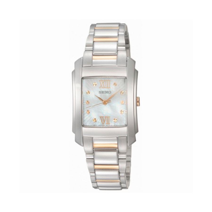 Reloj Seiko Neo Classic Mujer SRZ367P1 Acero esfera nácar
