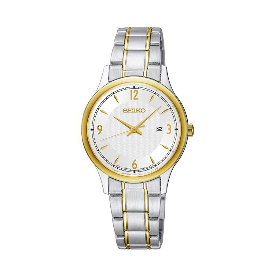 Reloj Seiko Neo Classic Mujer SXDG94P1 Acero bicolor dorado y plata con calendario