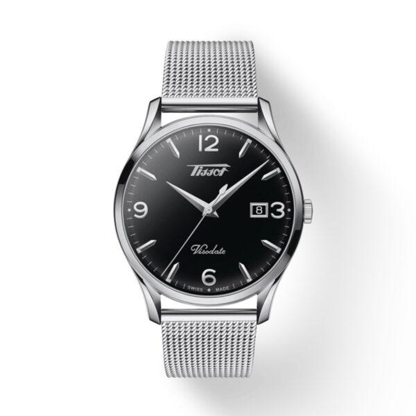 Reloj Tissot Heritage Hombre T1184101105700 Acero negro con correa malla acero