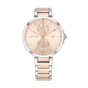 Reloj Tommy Hilfiger Angela Mujer 1782127 Multifunción rosado