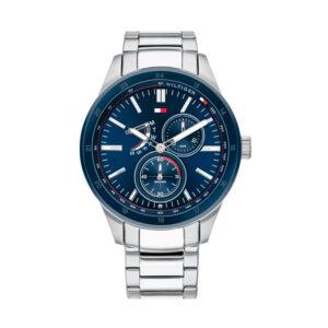 Reloj Tommy Hilfiger Austin Hombre 1791640 Acero esfera azul