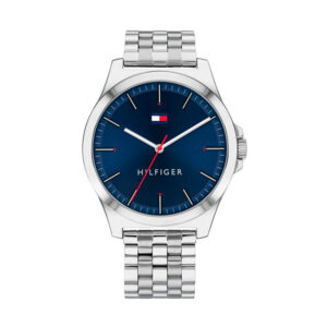 Reloj Tommy Hilfiger Barclay Hombre 1791713 Acero esfera azul