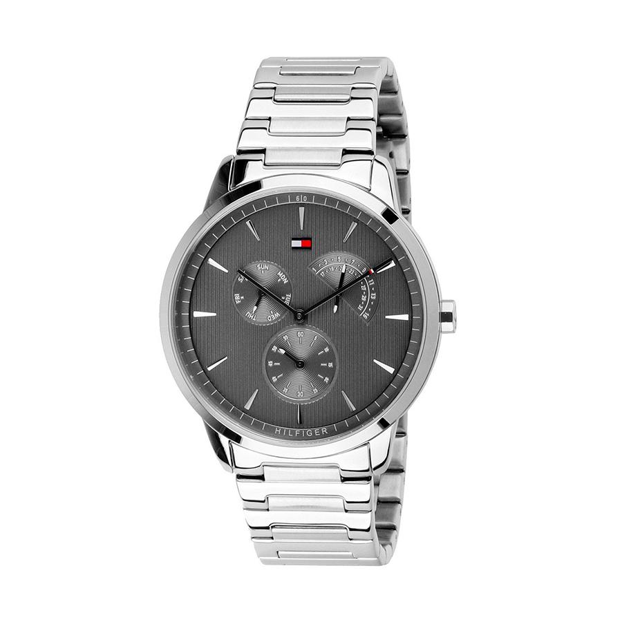 Reloj Tommy Hilfiger Brad Hombre 1710385 Cronógrafo esfera gris