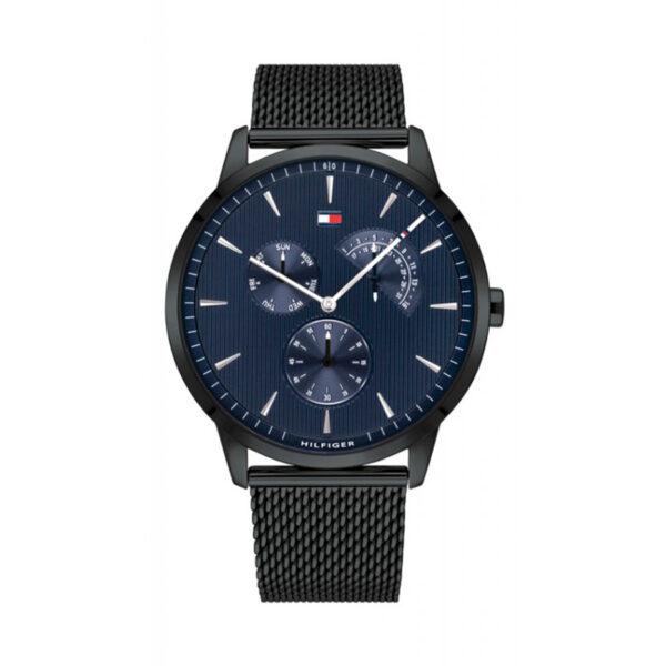 Reloj Tommy Hilfiger Brad Hombre 1710392 Acero malla negra