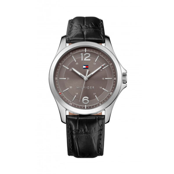 Reloj Tommy Hilfiger Essential Hombre 1791376 Correa de piel negra