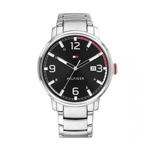 Reloj Tommy Hilfiger Essential Hombre 1791755 Acero esfera negra