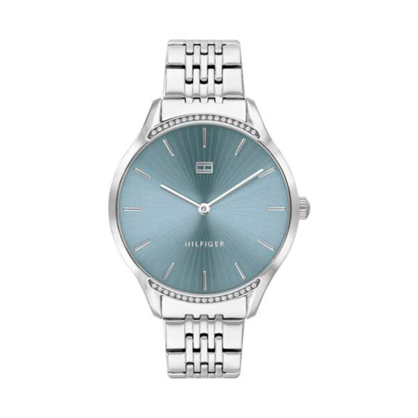 Reloj Tommy Hilfiger Gray Mujer 1782210 Acero esfera azul