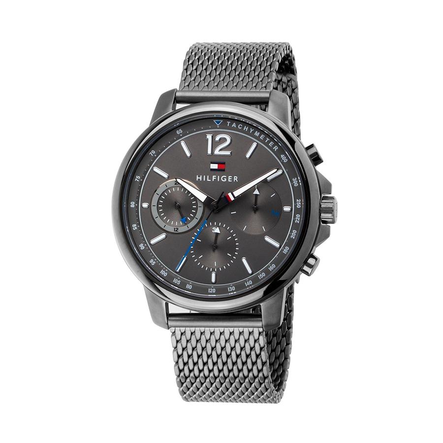 Reloj Tommy Hilfiger Landon Hombre 1791530 Gris con correa de malla