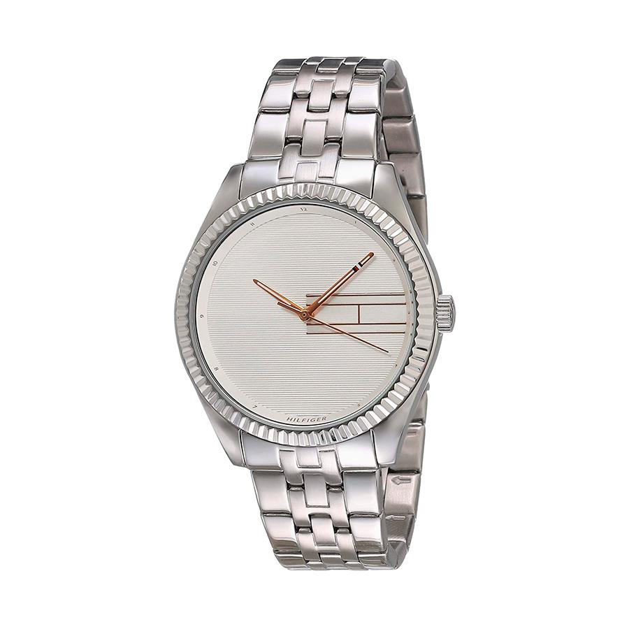 Reloj Tommy Hilfiger Lee Mujer 1782080 Acero esfera plateada