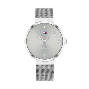Reloj Tommy Hilfiger Liberty Mujer 1782220 Plateado correa malla