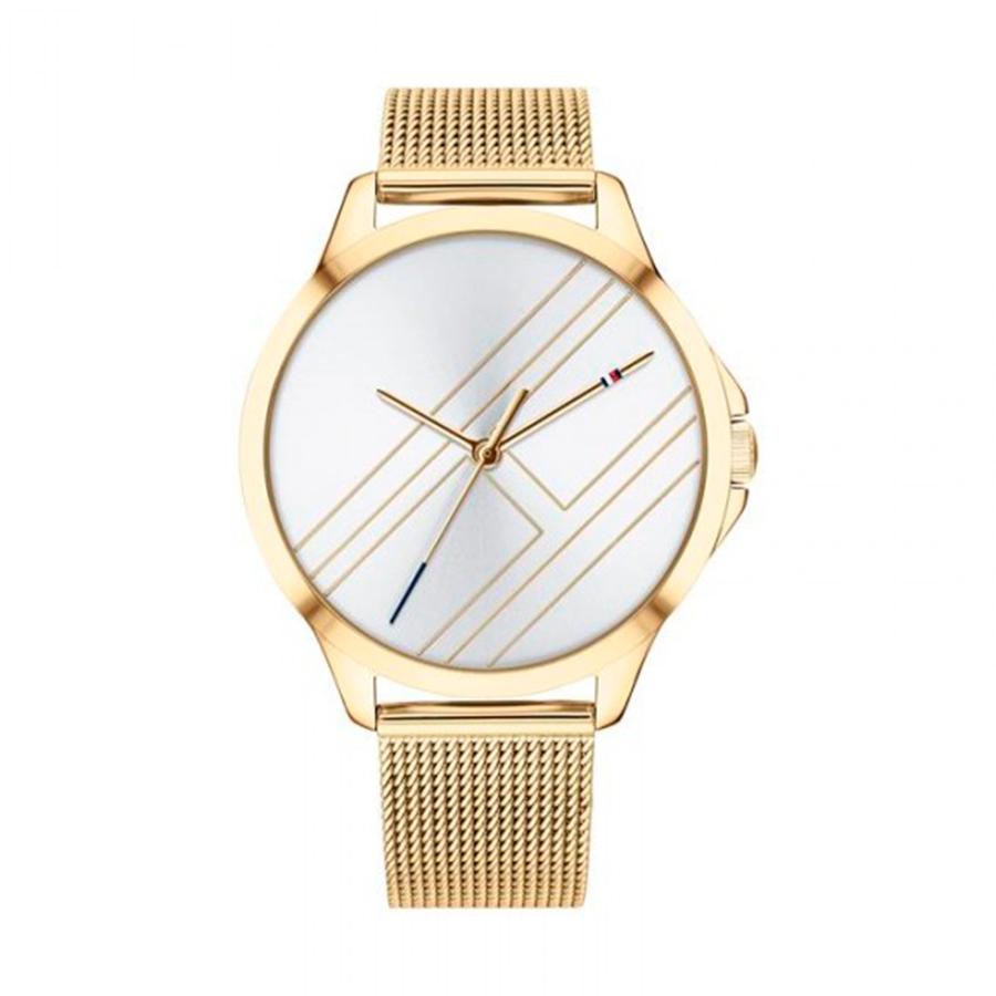 Reloj Tommy Hilfiger Peyton Mujer 1781962 Dorado esfera plateada