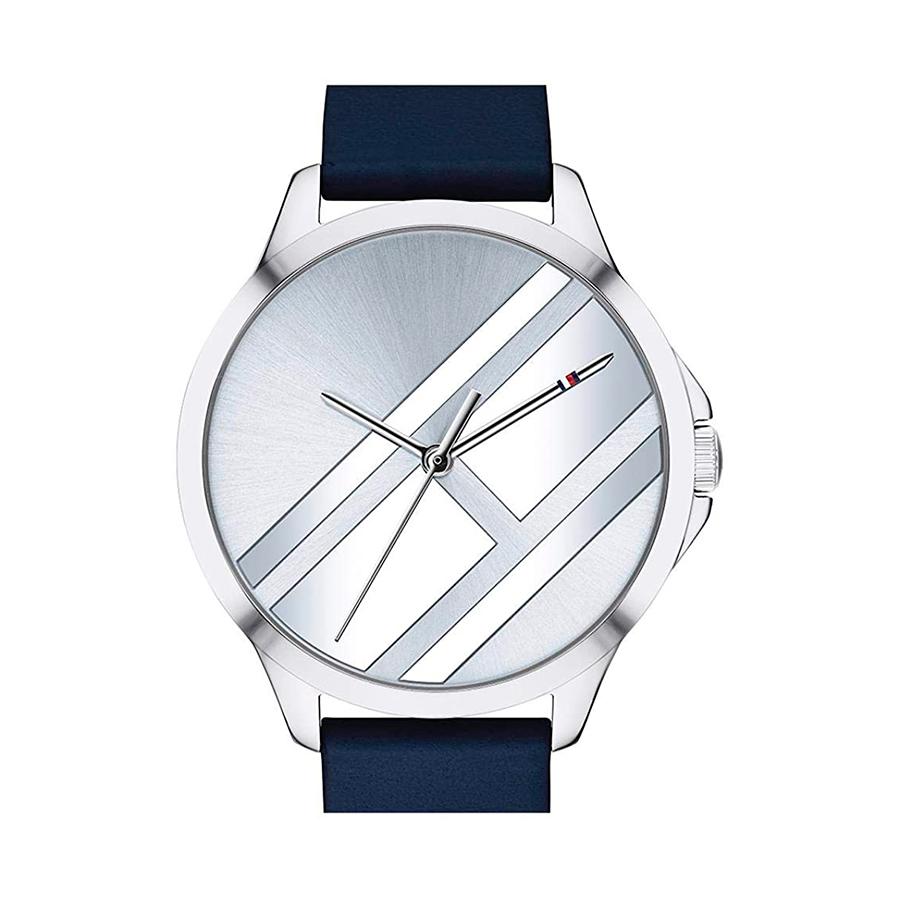 Reloj Tommy Hilfiger Peyton Mujer 1781964 Esfera azul correa de piel