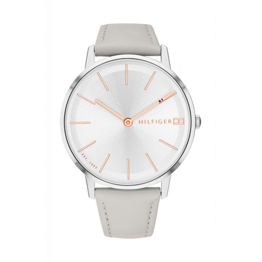 Reloj Tommy Hilfiger Pippa Mujer  1781937 Correa piel gris