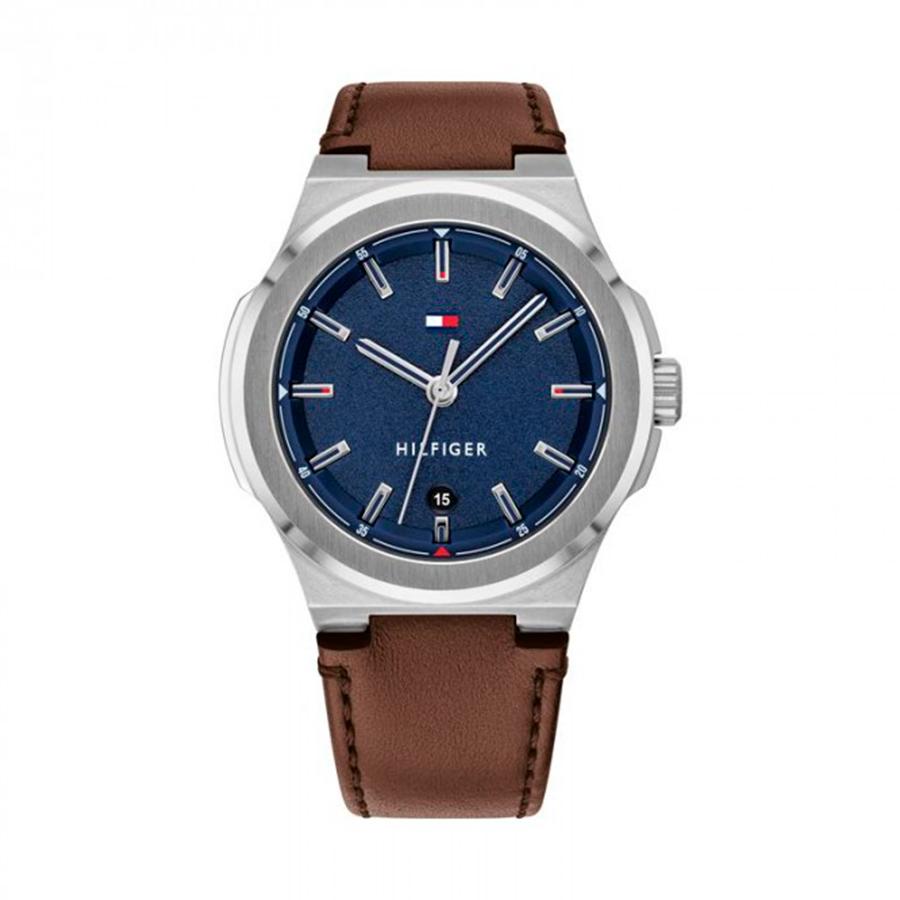 Reloj Tommy Hilfiger Princeton Hombre 1791645 Correa de piel marrón