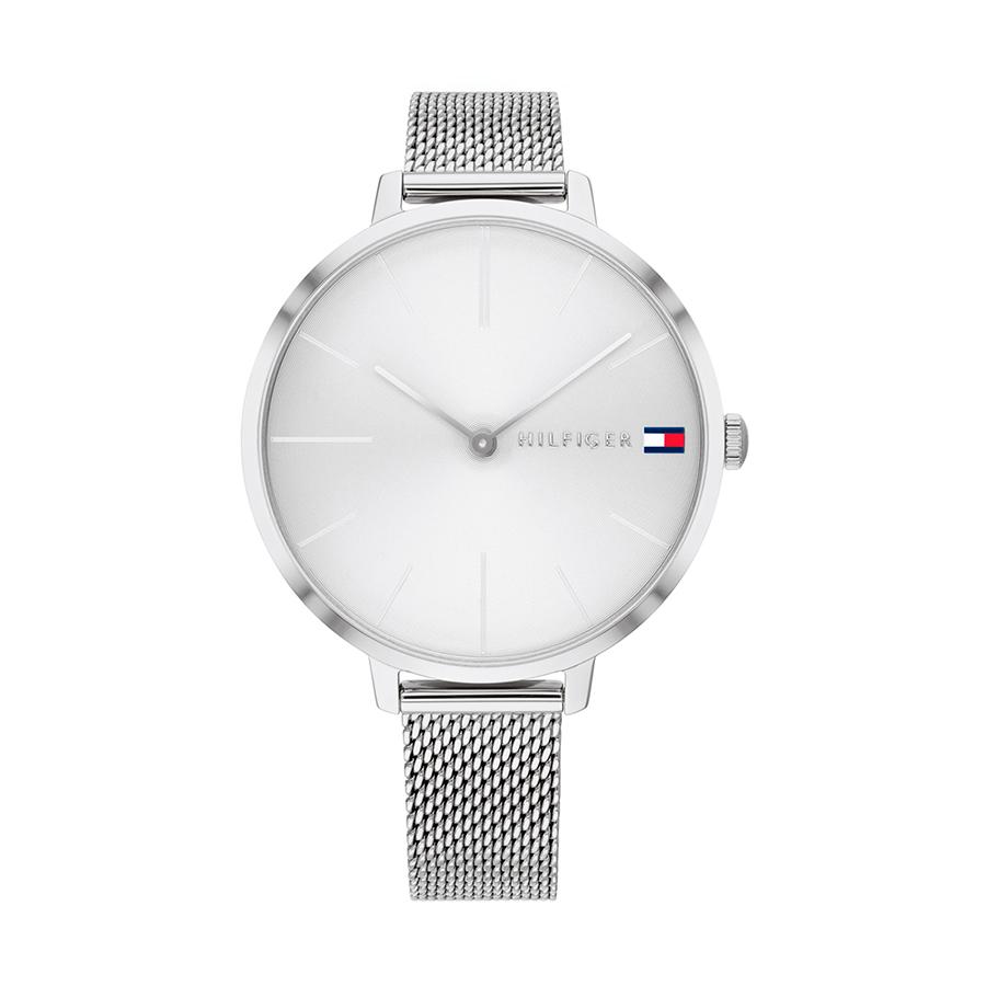 Reloj Tommy Hilfiger Zendaya Mujer 1782163 Plateado correa malla