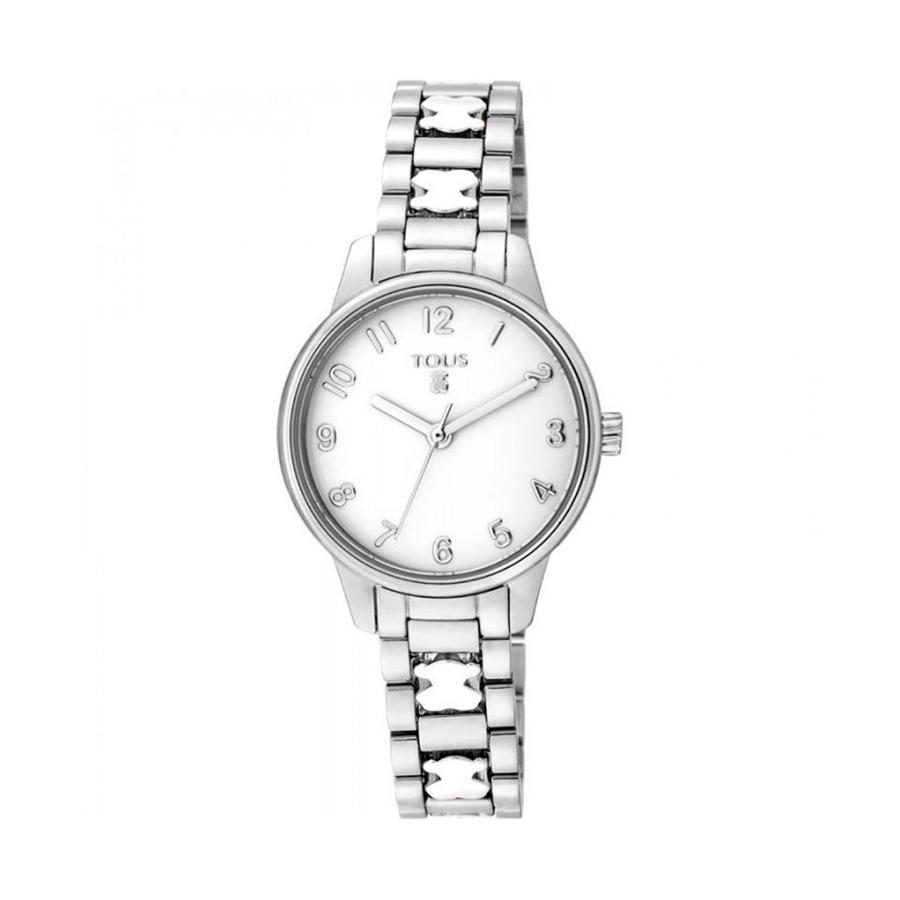 Reloj Tous Beary Mujer 000351395 Acero esfera blanca