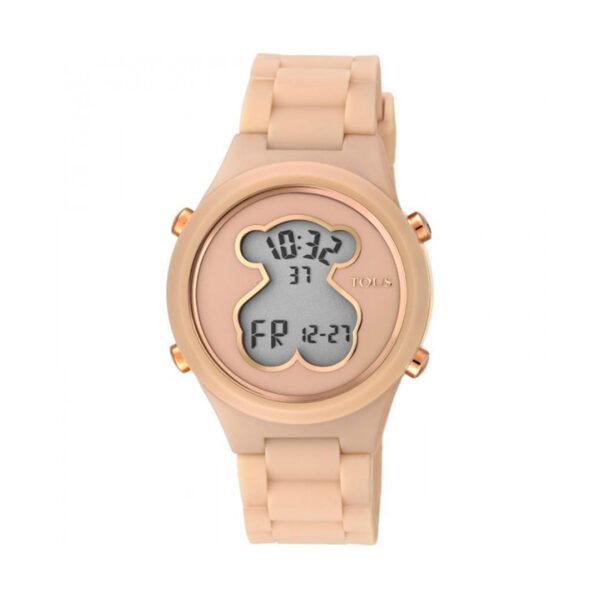 Reloj Tous D-bear Mujer 000351600 Policarbonato con correa de silicona nude