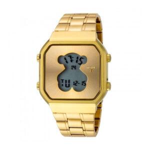 Reloj Tous D-bear SQ Mujer 600350285 Dorado acero digital