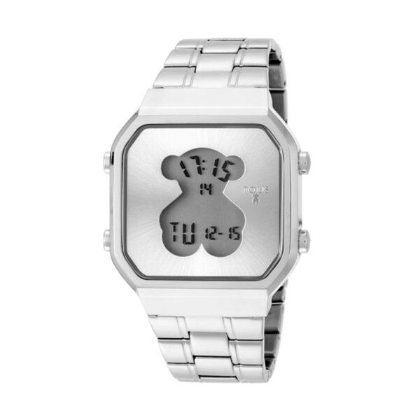 Reloj Tous D-Beard Mujer 600350275 Acero cuadrado digital