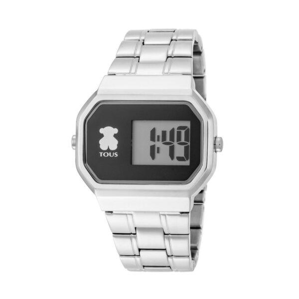 Reloj Tous D-Beard Mujer 600350295 Acero esfera negra digital
