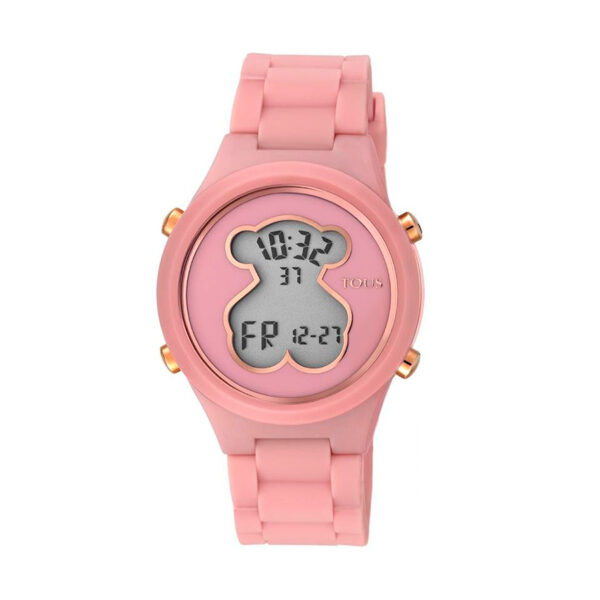 Reloj Tous DigiBear Mujer 000351605 Policarbonato y silicona rosa