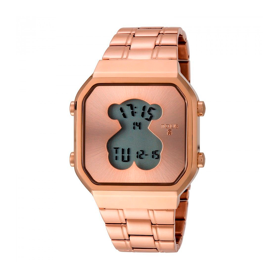 Reloj Tous DigiBear Mujer 600350290 Rosado cuadrado digital