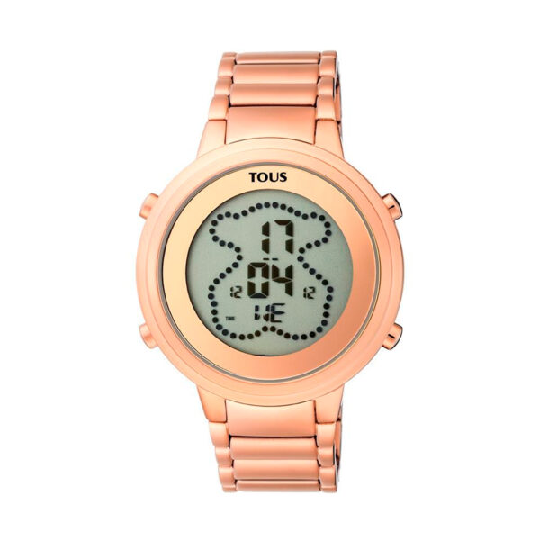 Reloj Tous Digibear Mujer 900350045 Rosado acero digital