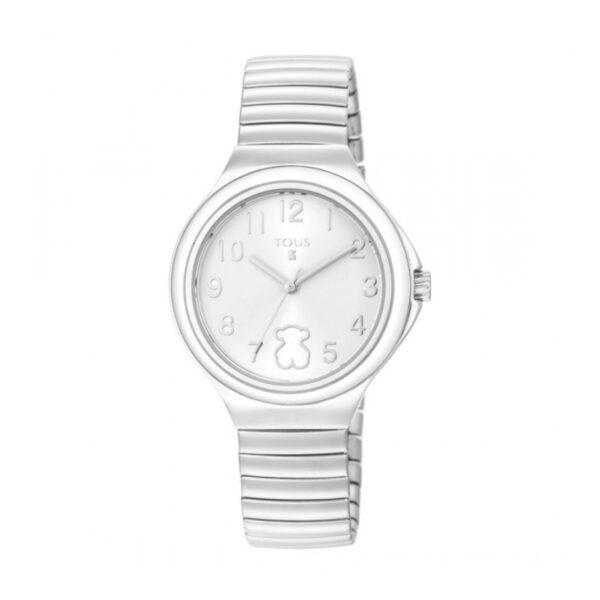 Reloj Tous Easy Mujer 800350645 Acero esfera blanca