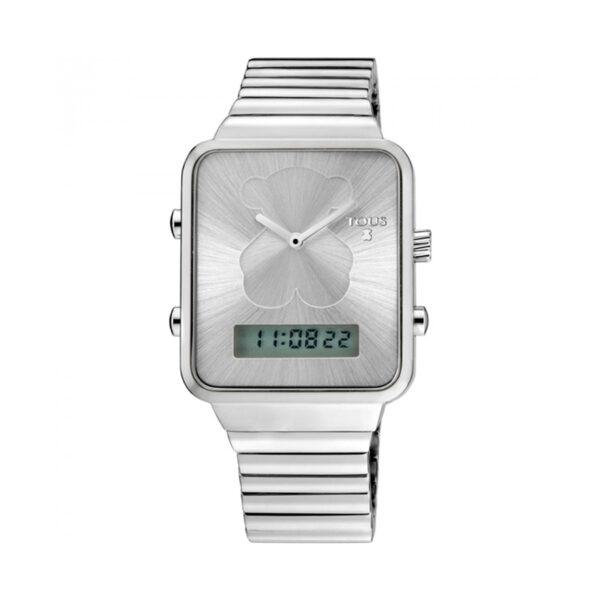 Reloj Tous I-Bear Mujer 700350120 Acero cuadrado analógico-digital