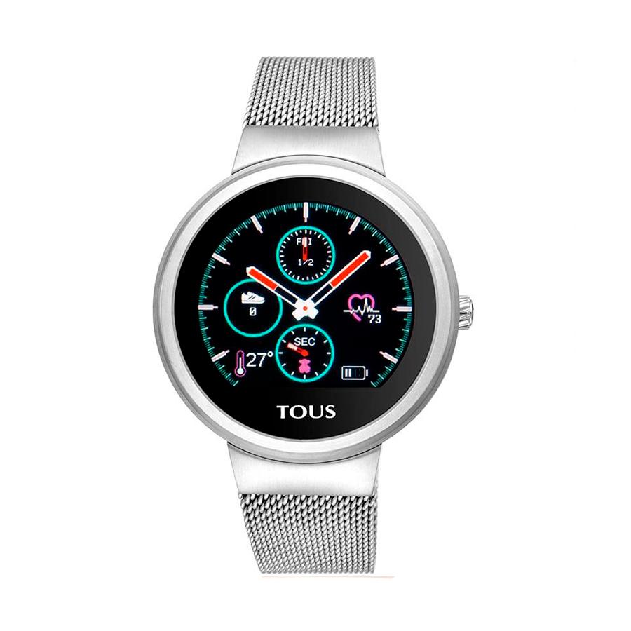 Reloj Tous Inteligente Round Touch Mujer 000351640 Acero reloj inteligente