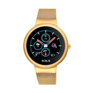 Reloj Tous Inteligente Round Touch Mujer 000351645 Dorado reloj inteligente