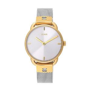 Reloj Tous Let Mesh Mujer 000351485 Dorado con correa de malla acero