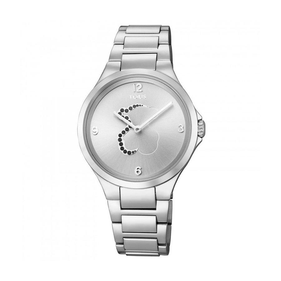 Reloj Tous Motion Mujer 700350205 Acero con motivo oso en esfera negro