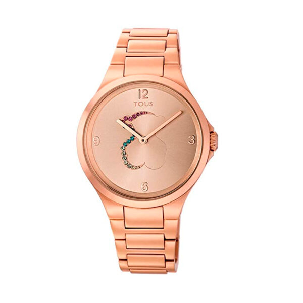 Reloj Tous Motion Mujer 700350210 Rosado con motivo oso multicolor