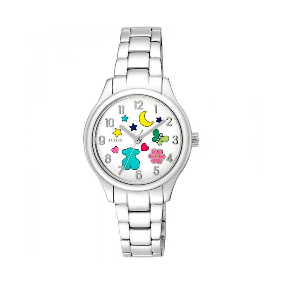 Reloj Tous Nit Mujer 900350225 Acero con motivos en esfera multicolor