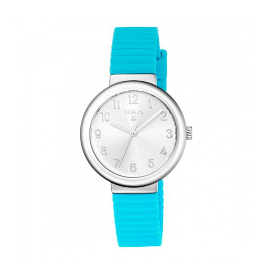 Reloj Tous Rainbow Mujer 800350605 Acero correa silicona azul