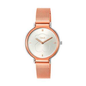 Reloj Tous Real Bear Mujer 800350895 Rosado bicolor