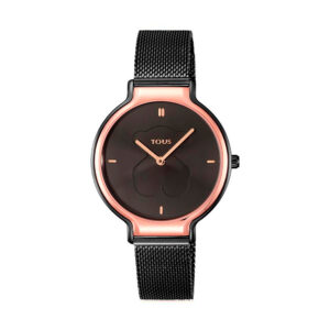 Reloj Tous Real Bear Mujer 900350380 Bicolor negro rosado
