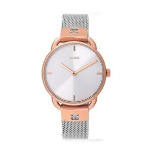 Reloj Tous S-Mesh Mujer 700350285 Acero bicolor rosado