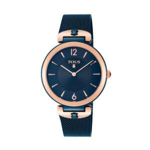 Reloj Tous S-Mesh Mujer 800350835 Acero azul bicolor rosado