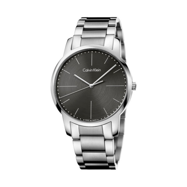 Reloj Calvin Klein City Hombre K2G2G1Z3 Acero con esfera gris