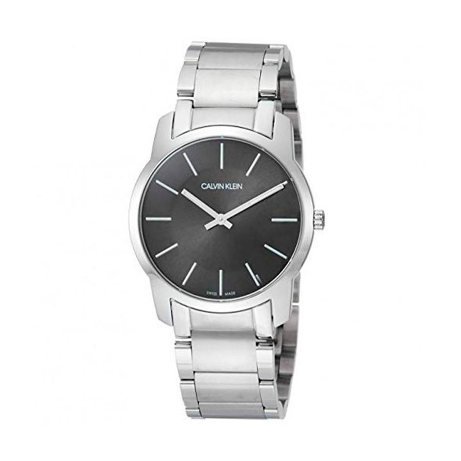 Reloj Calvin Klein City Unisex K2G22143 Acero con esfera negra