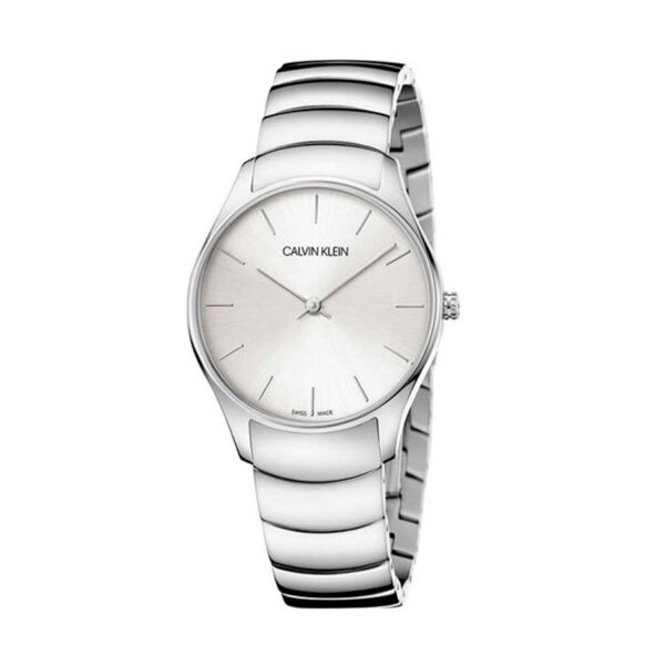 Reloj Calvin Klein Classic Mujer K4D22146 Acero esfera plata