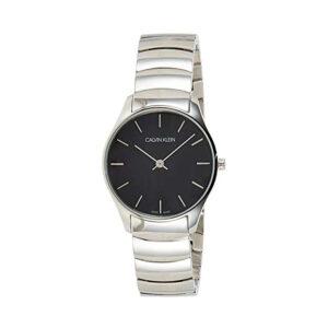 Reloj Calvin Klein Classic Mujer K4D2214V Acero con esfera negra