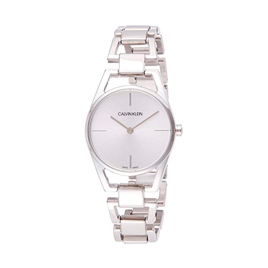 Reloj Calvin Klein Dainty Mujer K7L23146 Acero esfera plata y correa acero plata