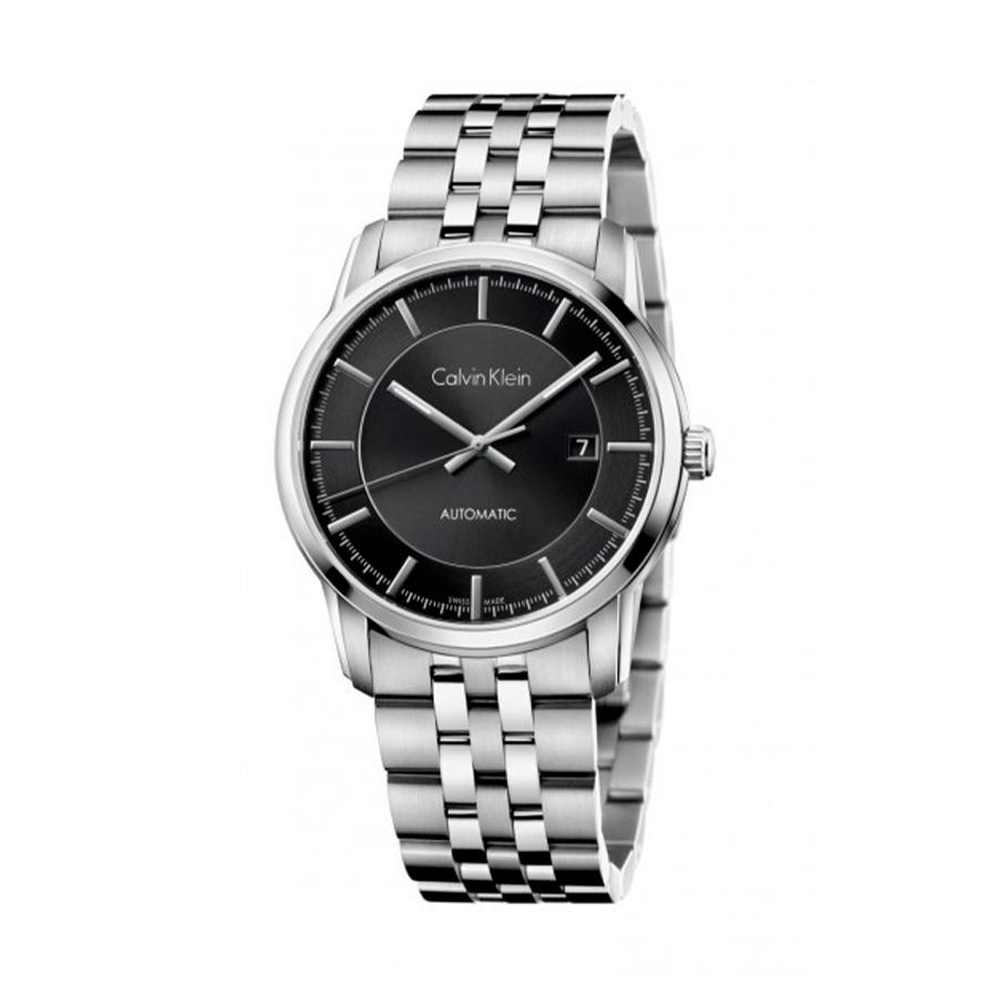 Reloj Calvin Klein Infinity Hombre K5S34141 Acero con esfera negra y calendario