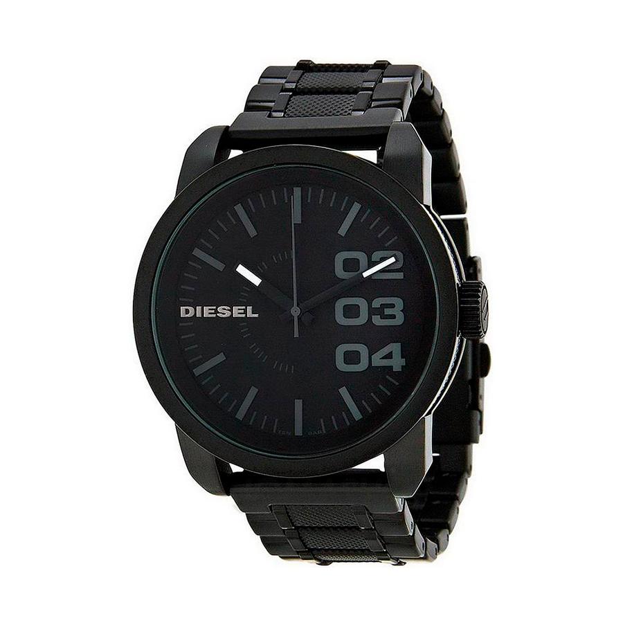 Reloj Diesel Double Down Hombre DZ1371 Acero negro 3 agujas