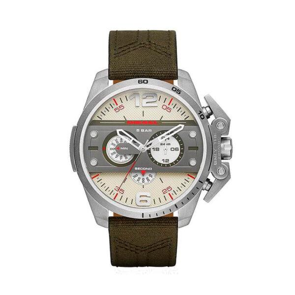 Reloj Diesel Ironside Hombre DZ4389 Acero correa marrón